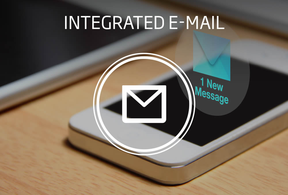 Integrated e-mail