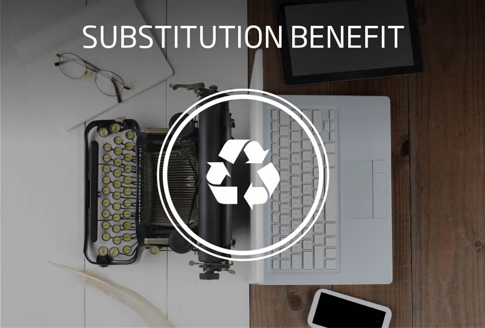 substitution benefit